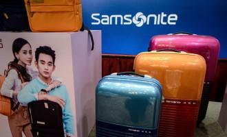 HONG KONG-US-COMPANY-SAMSONITE-EARNINGS