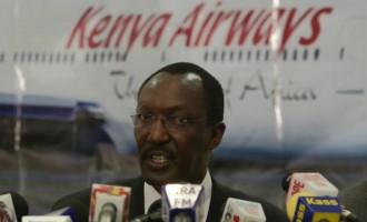 Kenya Airways Chief Executive Officer Ti...