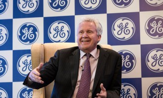 General Electric Co. Chairman And Chief Executive Officer Jeffrey Immelt Speaks In New Delhi