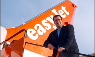 Easy Jet Air Compagny C.E.O. Stelios Haji-Ionnou In France On August 29, 2001.