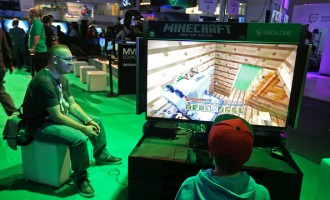 Visitors Attend The EXG Gaming Conference