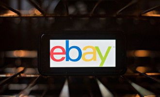 EBay Inc. Illustrations As The Company Announces Earnings Figures