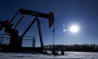 Pumpjacks Pumping Oil