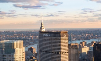 New York tours and attractions: Metlife building standing.