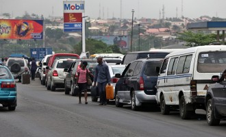 Fuel Shortages In Nigeria Cause Queues At Gas Stations