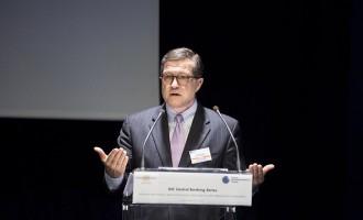 UBS AG Chairman Axel Weber And Bank Of France Governor Francois Villeroy de Galhau Speak At GIC Conference