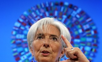 Christine Lagarde And Robert Zoellick Hold Briefings At Start Of IMF-WB Spring Meeting