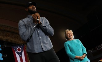 LeBron James Joins Campaign For Hillary Clinton